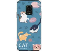 Backcover Θήκη Σιλικόνης για Redmi Note 9S/ 9 PRo /9 Pro Max - Cats