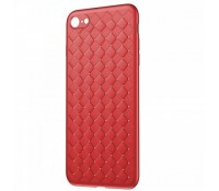 Baseus Luxury Grid Weaving Case For iPhone 6/6s/6 plus -red