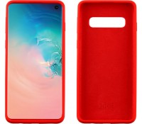"IDOL 1991 ΘΗΚΗ SAMSUNG S10 G973 6.1"" VELVET TPU 4 SIDE RED"