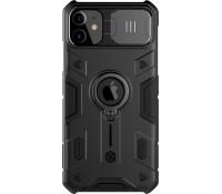 Nillkin CamShield Armor Hard Back Cover Μαύρο για iPhone 11