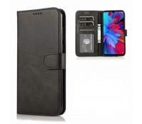 Θήκη Wallet Vintage Book Case Πορτοφόλι για Samsung Galaxy A71 - Μαύρο