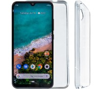 "VOLTE-TEL ΘΗΚΗ XIAOMI MI A3 6.09"" SLIMCOLOR AIR TPU ΔΙΑΦΑΝΗ"