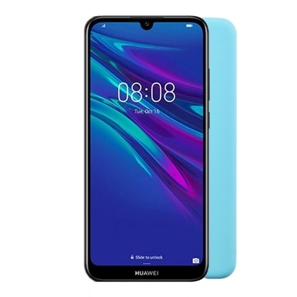 "VOLTE-TEL ΘΗΚΗ HUAWEI Y6 PRO/Y6 2019 6.09"" SILICON TPU LIGHT BLUE"