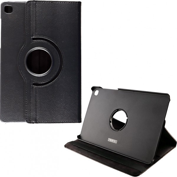 """VOLTE-TEL ΘΗΚΗ SAMSUNG TAB A7 T500/T505 10.4"""" LEATHER BOOK ROTATING STAND BLACK"""