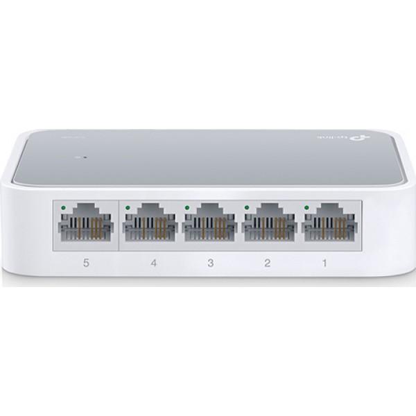 TP-LINK Desktop Switch TL-SF1005D, 5-port 10/100M, Ver. 16.0