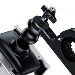BASEUS βάση μηχανής για smartphone CRJBZ-0S Knight, μεταλλική, ασημί