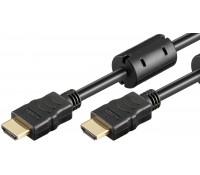 POWERTECH καλώδιο HDMI 1.4 CAB-H093 eco, Copper, μαύρο, 10m