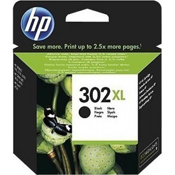INK HP NO 302XL Black F6U68AE