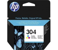 Μελάνι HP No 304 Tri-Color Ink Crtr 100