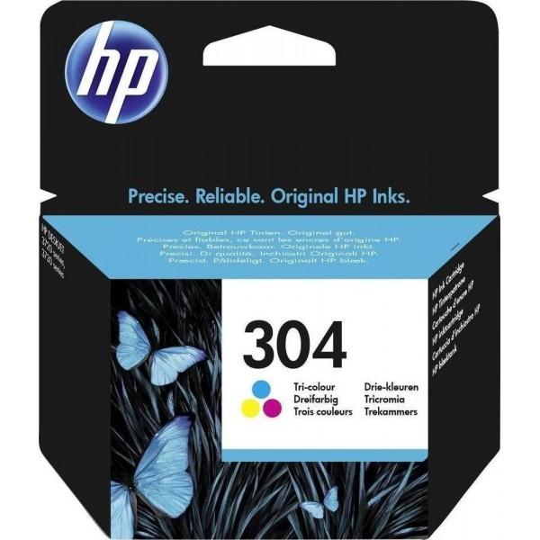Μελάνι HP No 304 Tri-Color Ink Crtr 100