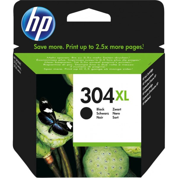 Μελάνι HP No 304XL Black Ink Crtr 300 pg