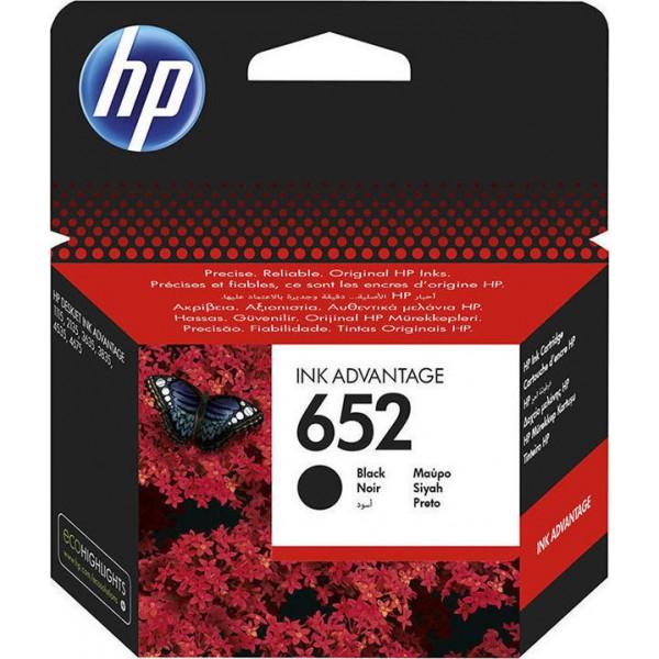 INK HP No 652 Black F6V25AE