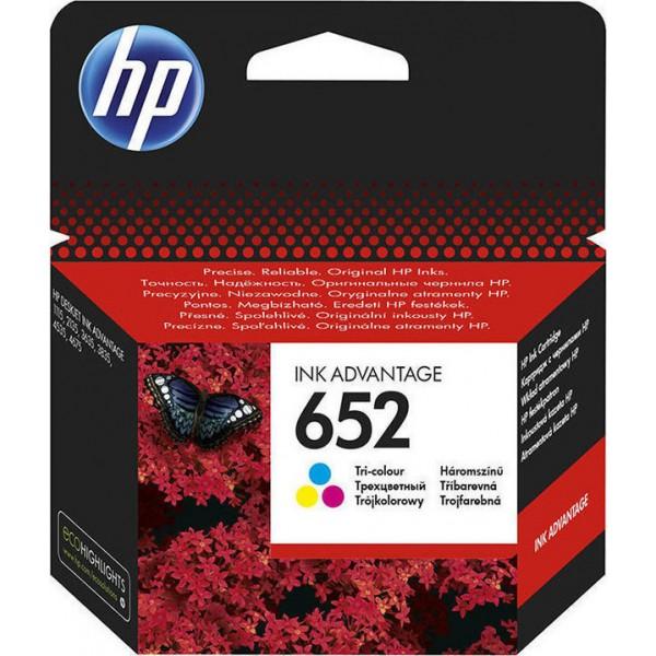 INK HP NO 652 TRICOLOR F6V24AE
