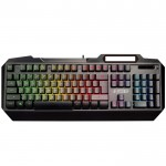 NOD METAL STEALTH Ενσύρματο gaming πληκτρολόγιο, με RGB LED backlight φωτισμό 7 χρωμάτων