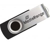 MediaRange USB 2.0 Flash Drive 4GB Black/Silver (MR907)