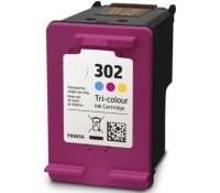 Συμβατό Inkjet για HP 302XL, Color INK-H302CLXL