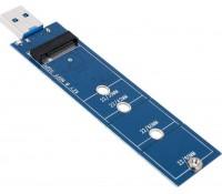 POWERTECH Converter USB 3.0 σε M.2 SSD TOOL-0020, 2230/2242/2260/2280