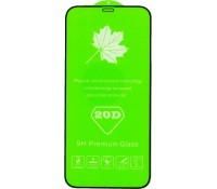 Borofone TEMPERED GLASS 20D, FULL GLUE, IPHONE 12, IPHONE 12 PRO, ΜΑΥΡΟ