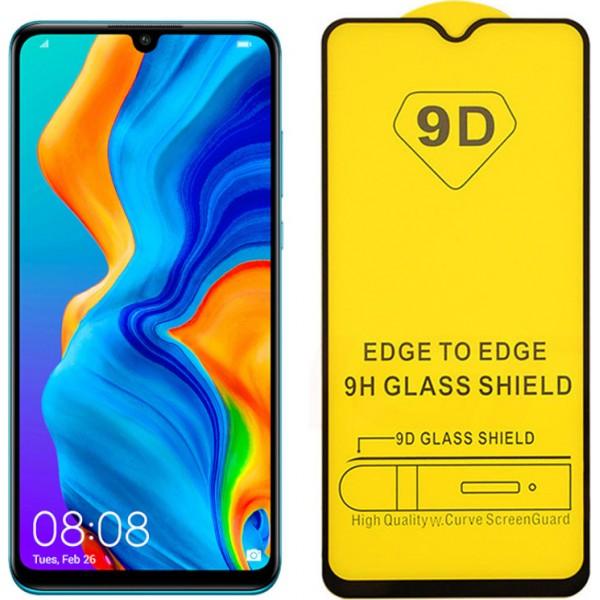9D Full Glue Tempered Glass Black για το Huawei Y7 2019/Huawei Y7 Pro 2019