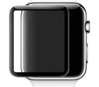 Mocolo 3D Full Face Curved Black 9H Tempered Glass για το Apple Watch - 40mm (Series 4)