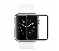 Mocolo 3D Full Face Curved Black 9H Tempered Glass για το Apple Watch - 38mm (Series 2/3)