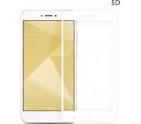 POWERTECH Tempered Glass 5D Full Glue για Xiaomi Redmi Note 4/4X, White, Mediatek