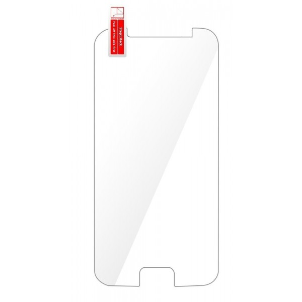 "Tempered Glass  9H(0.33MM) Universal 6"", με εγκοπή για button, PT-537, POWERTECH"