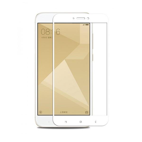 Tempered Glass 3D, για Xiaomi Redmi 5A (Qualcomm), White, TGC-0084, POWERTECH