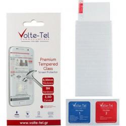 """VOLTE-TEL TEMPERED GLASS XIAOMI REDMI 6A 5.45"""" 9H 0.30mm 2.5D FULL GLUE"""