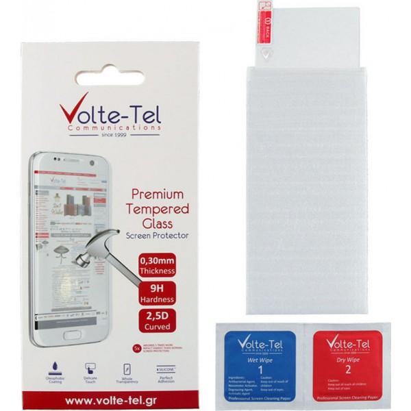 """VOLTE-TEL TEMPERED GLASS XIAOMI MI 8 PRO/MI 8 6.21"""" 9H 0.30mm 2.5D FULL GLUE"""