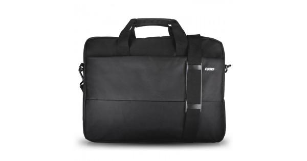 ec33eb01bf Μαύρη τσάντα μεταφοράς για laptop έως και 15