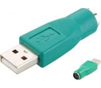 POWERTECH Adapter USB 2.0 σε PS2 θηλυκό