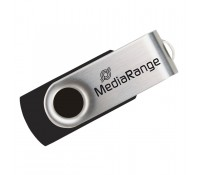MediaRange USB 2.0 Flash Drive 8GB (Black/Silver) (MR908)