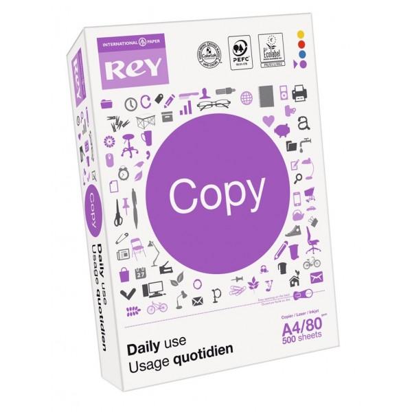 Χαρτί Α4-REY COPY A4, 80gsm/500 φύλλα